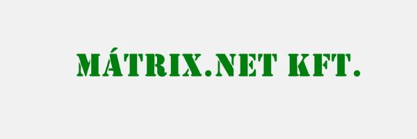 MÁTRIX.NET Webáruház