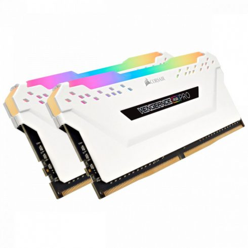 Corsair 16GB DDR4 3200MHz Kit (2x8GB) Vengeance RGB Pro White