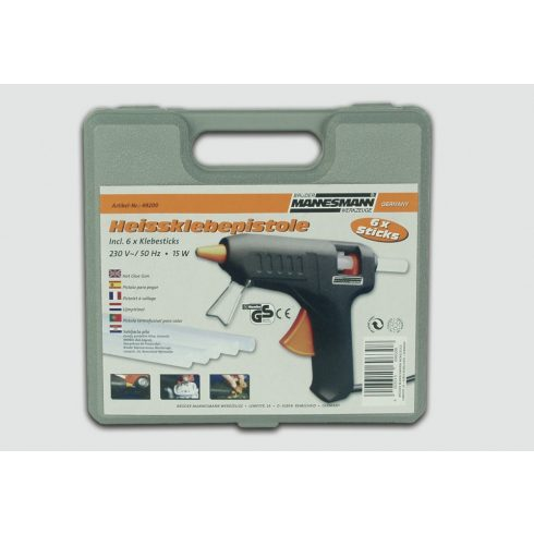 MAN-49200 Ragasztó pisztoly készlet 12W/70W