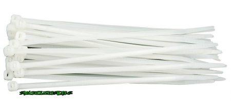 TOYA 73885 Kábelkötegelő 3,6 x 290mm / 100db / fehér