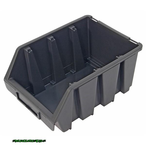 Extol tároló doboz, ergobox 3, közepes, 170×240×125mm, műany