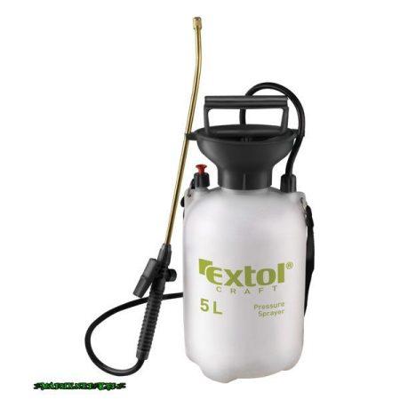 EXTOL kézi permetező permetszóróval; 5 liter, réz cső 92602
