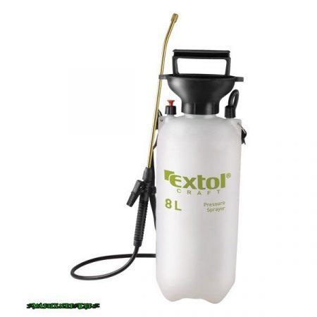 EXTOL kézi permetező permetszóróval; 8 liter, réz cső 92603